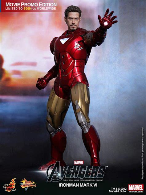 The Avengers Hot Toys Iron Man Mark Collectible