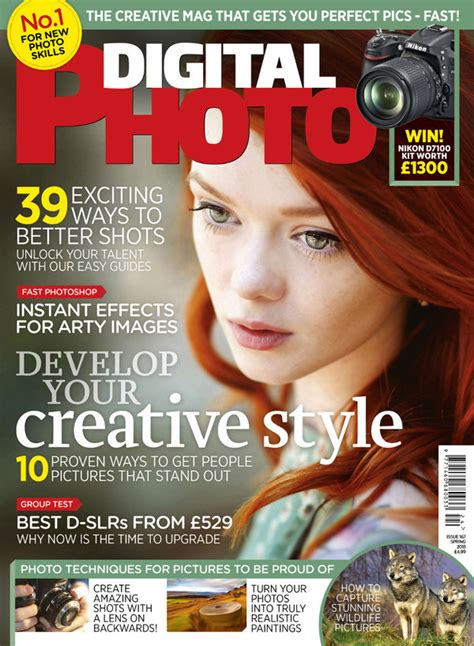 Digital Photo Magazine Spring Issue Cover By