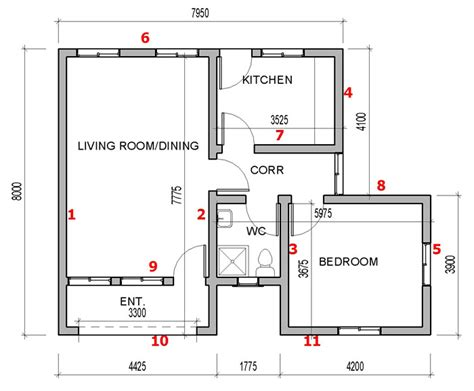 How To Find House Plans by How To Calculate Number Of Blocks For Your Building