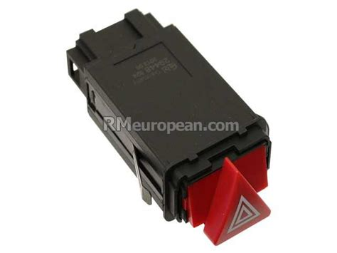 audi febi bilstein hazard flasher switch with turn signal emergency flasher relay 8d0941509h01c