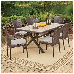 wilson fisher 174 hyde park 7 piece dining set big lots