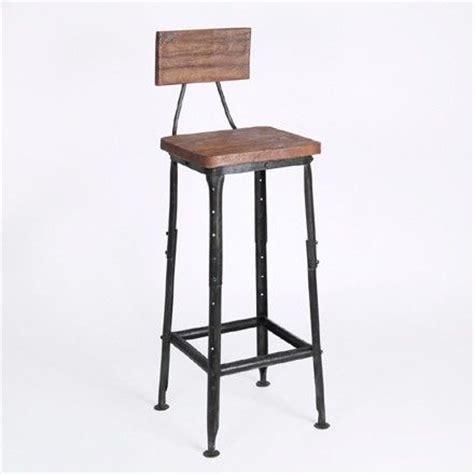 tabouret de bar bois et metal