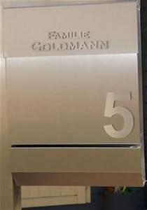 Briefkasten Freistehend Mit Hausnummer : standbriefkasten edelstahl v4a briefkasten freiste edelstahl goldmann ~ Sanjose-hotels-ca.com Haus und Dekorationen