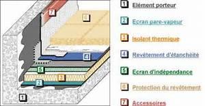 peut on isoler une toiture terrasse de linterieur With maison toit plat bois 4 isolation pare vapeur et gazon notre maison ossature bois