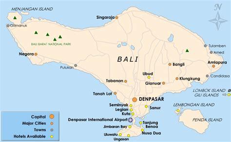 Bali Map - Maps of Bali