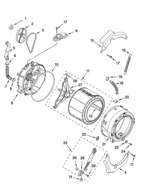 kenmore he2 dryer wiring diagram how to fix an overflowing washing machine washer water sears