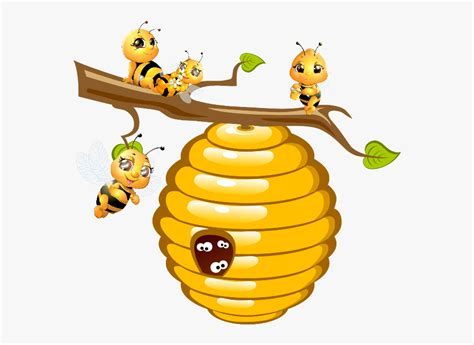 library  bees honey clip art freeuse library png files