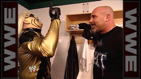goldberg meets goldust raw april   youtube