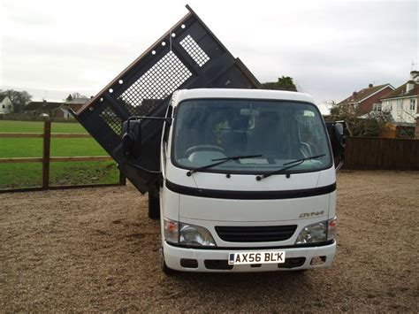toyota main dealer 2007 toyota dyna 3500 kg 3 way tipper full main dealer