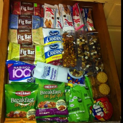 Healthy Snacks Desk Drawer by 17 Best Images About Snack Drawer On After