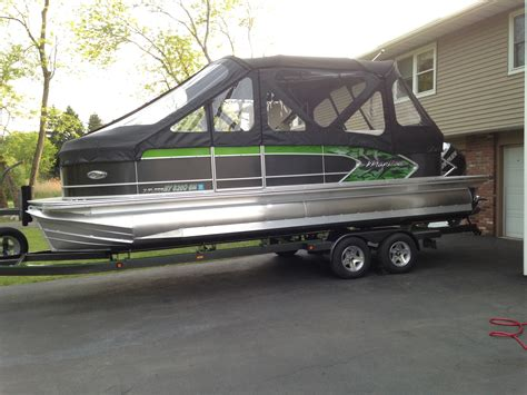 Pontoon Boats For Sale Ny by Used Pontoon Boats For Sale In New York Boats