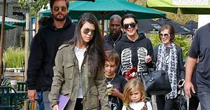 Kourtney Kardashian, Scott Disick, leurs enfants Mason et ...