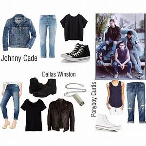 All the outfits for ️️Ponyboy ️ Johnny Dally The Outsiders ...
