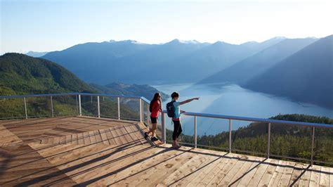 viewing deck design viewing platforms sea to sky gondola