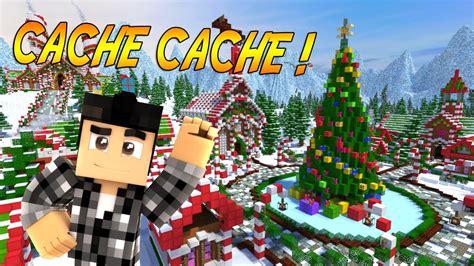 cache cache minecraft special noel hide  seek
