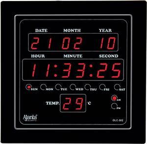 Digital Office Wall Clocks. Cool New Vintage Wooden Mute ...