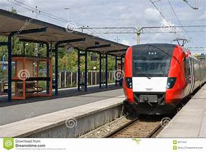 Train At The Train Station Stock Image - Image: 6571541