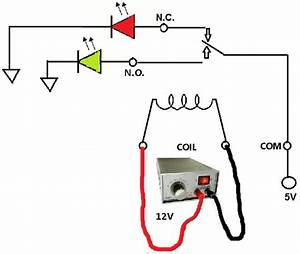 how to connect a single pole double throw spdt relay in With spdt relay circuit