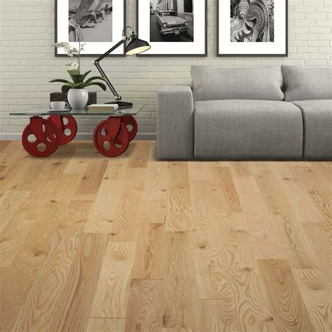 wire brushed red oak natural vintage hardwood flooring