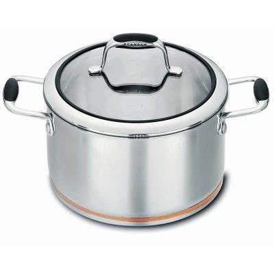 scanpan coppernox  piece cookware set chefs complements