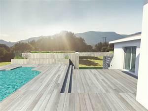 Pool House Toit Plat : construction d 39 un pool house a toit plat a roquevaire ~ Melissatoandfro.com Idées de Décoration