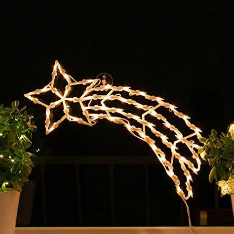 Weihnachtsdeko Fenster Saugnapf by Fenster Silhouette Weihnachten 45cm Weihnachtsdeko