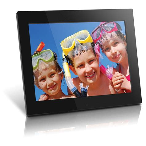 aluratek   res digital picture frame admpff bh