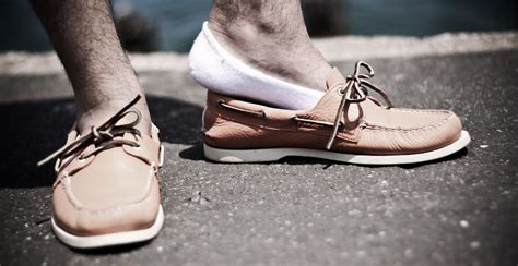 Boat Shoes With Socks Or Without by Mocc Socks Let You Go Sockless Without The Stinky