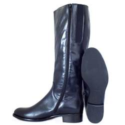 womens boots navy blue gabor dawson navy leather knee high boots mozimo