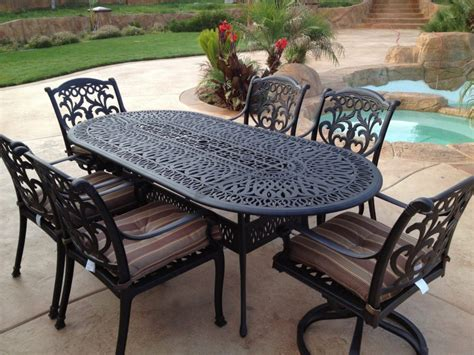 furniture wrought iron patio furniture pros and cons