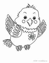 Bird Coloring Pages Cute Fly Guy Birds Baby Butterfly Hellokids Print Peacock Kawaii Cartoon Cage Sheets Printable Printables Animal Bing sketch template