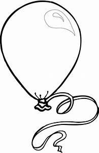 Balloon Outline - Coloring Home