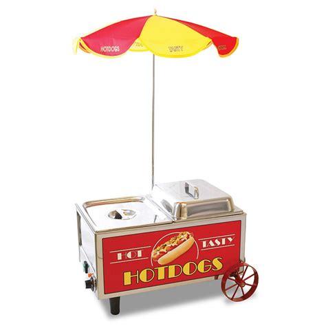 hotdog mini cart steamer benchmark usa