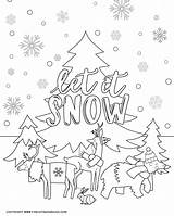 Coloring Winter Pages Printable Activity Fun Animals Sheet Sign Hi Friends Cold Comments Days sketch template