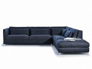 930 zone slim xl sectional sofa by vibieffe design for Sectional sofa xl