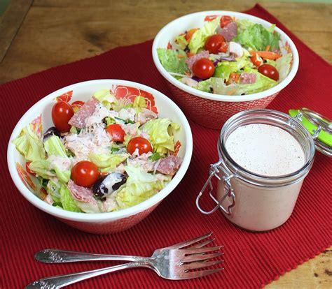 comment am駭ager cuisine salad dressing
