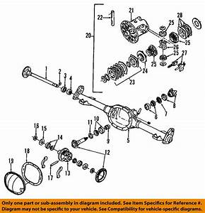 Gm Oem Rear Axle