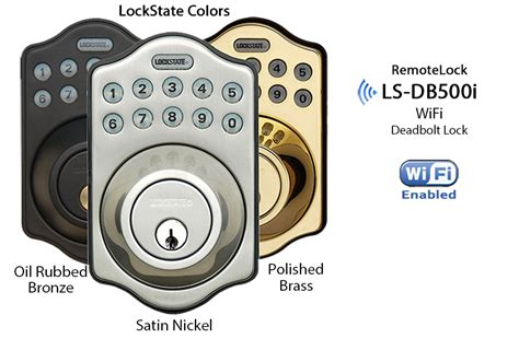 Lockstate Remotelock Ls-5i Deadbolt Lock (wifi-enabled)