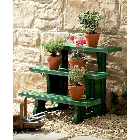 Etagere Garden by 3 Tier Etagere Tiered Potted Plant Garden Display Stand