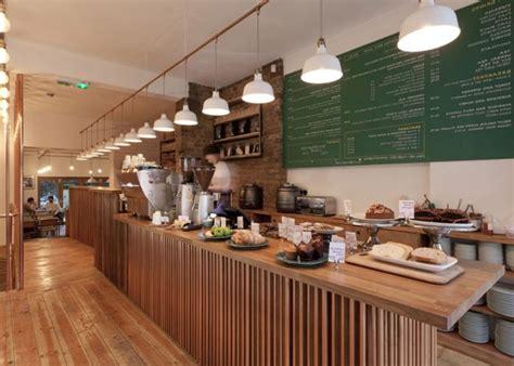 east london cafe interior design  twistinarchitecture