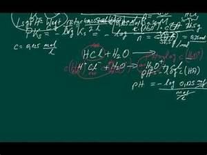 Ph Wert äquivalenzpunkt Berechnen : chemie ph wert starker s uren berechnen youtube ~ Themetempest.com Abrechnung