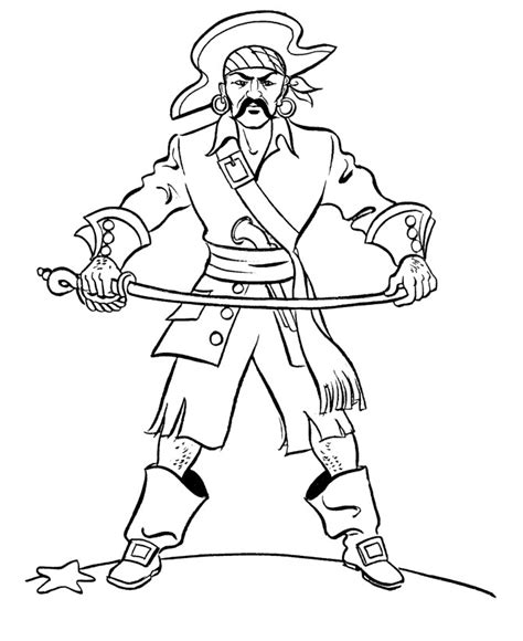 pirate coloring page free printable pirate coloring pages for