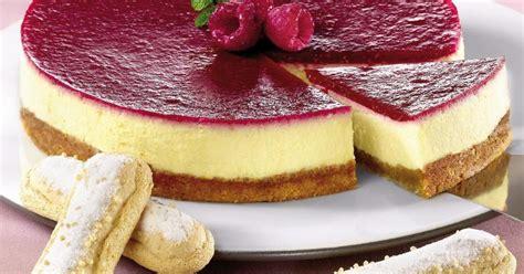 recette le cheese cake au coulis de framboises