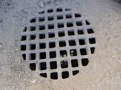 Drain Outside Blocked Clogged Clear Area Debris