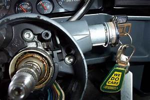 How To Remove The Ignition Key Lock   I Have The Steering