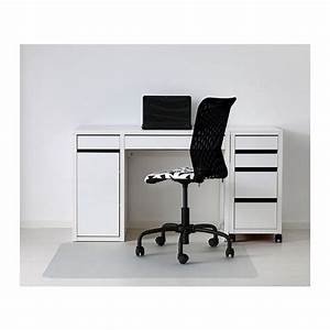 Ikea Brusali Schreibtisch : micke desk white cable drawer unit and cabinets ~ Watch28wear.com Haus und Dekorationen