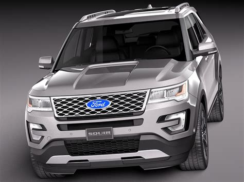 2018 Ford Explorer Platinum Redesign   AutosDrive.Info