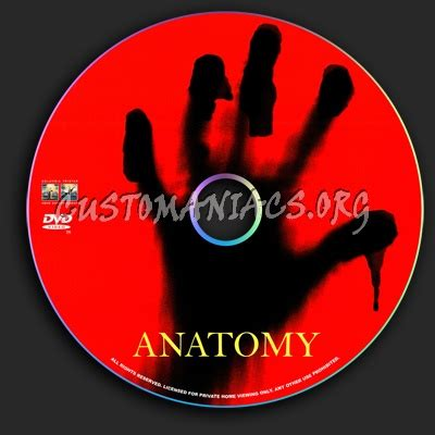 anatomy dvd label dvd covers labels by customaniacs