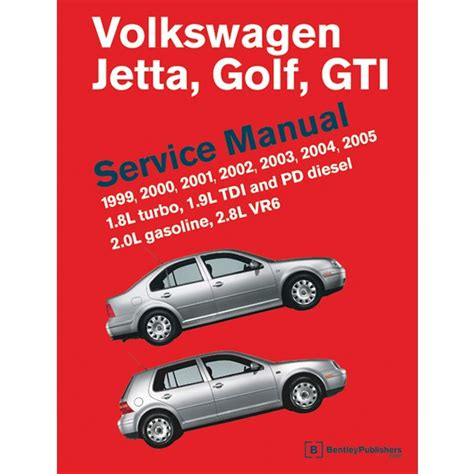 service and repair manuals 2012 volkswagen jetta electronic throttle control volkswagen golf jetta gti gli 1999 2005 mk4 service manual vg05 by bentley publishers