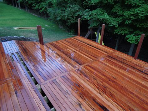 Tiger Wood Decking Maintenance by Tigerwood Deck Township Oh Area